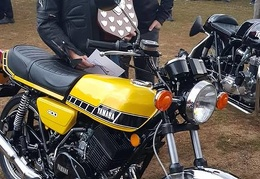 FF 14 - Winner of the Bike of the Year Competition was Kevin Martin with his 1978 Yamaha RD400