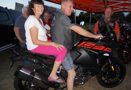 FF 9 Brian and Julia try the KTM on Finals Night
